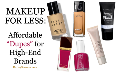 """Makeup for Less: Affordable """"Dupes"""" for High-End Brands"""