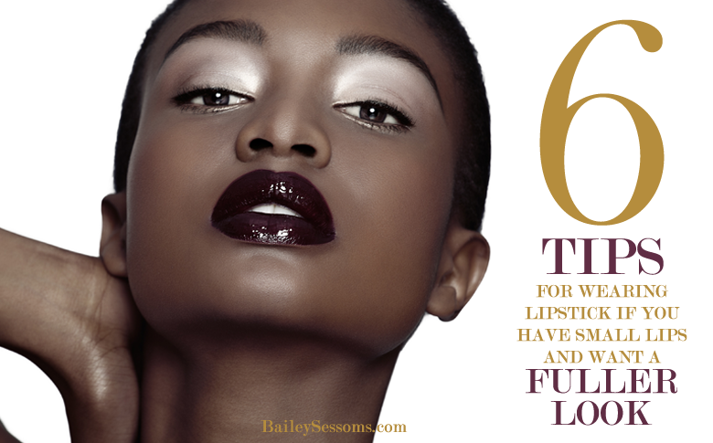 6 Tips For Wearing Lipstick If You Have Small Lips And Want A Fuller Look
